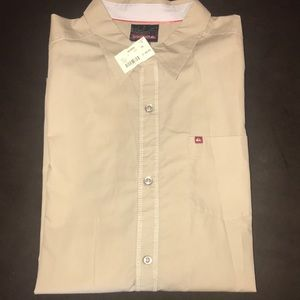 Quicksilver Men's L:S shirt. New with Tags.